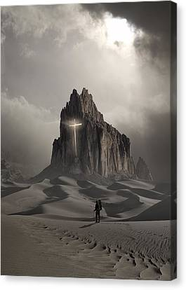 The Drifter Canvas Print by Keith Kapple