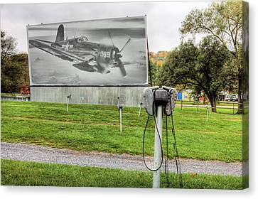 The Drive In Movie Canvas Print by JC Findley