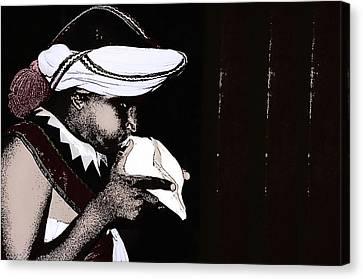 The Effort Canvas Print by Dumindu Shanaka