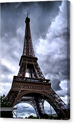 The Eiffel Tower Canvas Print by Edward Myers