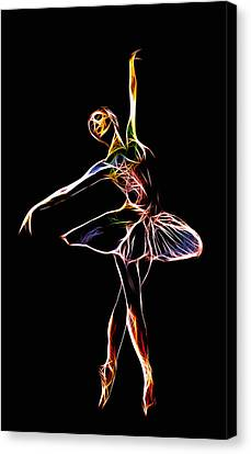 The  Electric Diva Canvas Print by Steve K