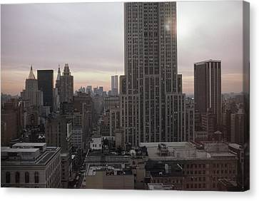 The Empire State Building And Other Canvas Print