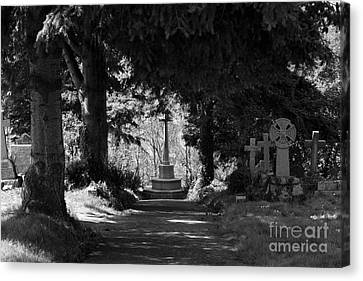 The End Canvas Print by Brian Roscorla