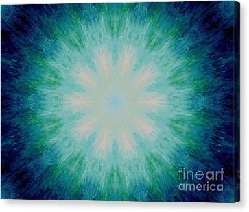 The Eye Of The Beholder Canvas Print by Michael Grubb