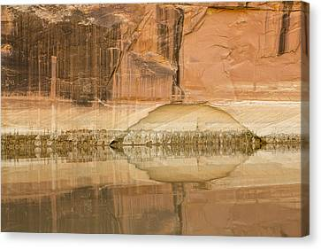 The Eye Of The River Canvas Print by Tim Grams