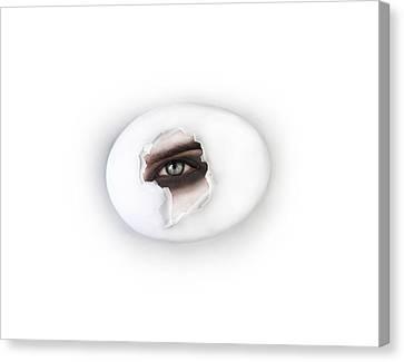 The Eye Canvas Print by Yosi Cupano