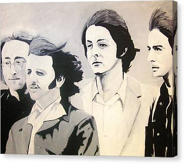 The Fab Four Canvas Print by Rock Rivard