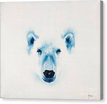 Canvas Print featuring the painting The Face Of The North by Annemeet Hasidi- van der Leij