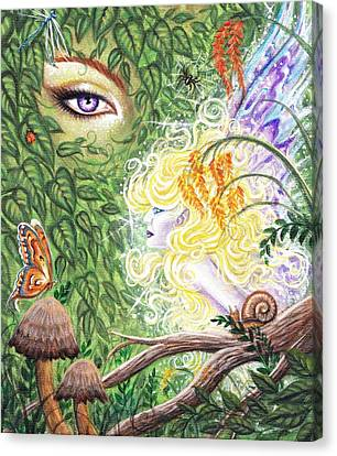 Faries Canvas Print - The Faerie World by Leon Atkinson