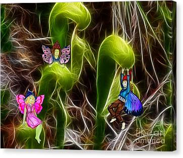 The Fairy's Playground Canvas Print by Methune Hively
