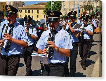 The Fanfare Canvas Print by Dany Lison