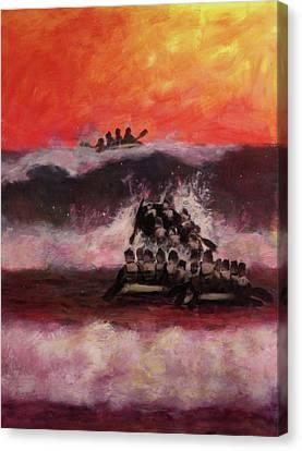 The Final Passage Canvas Print