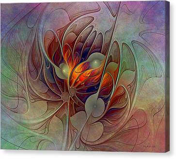 The Fire Inside Canvas Print
