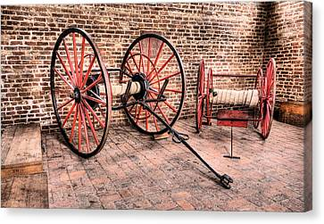 The Firehouse Canvas Print by JC Findley