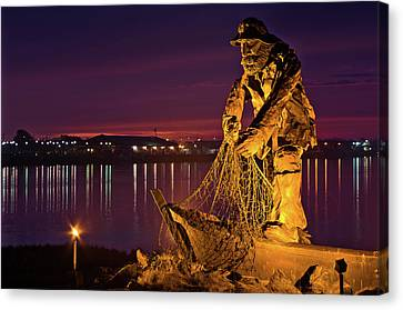 The Fisherman Canvas Print by Greg Nyquist