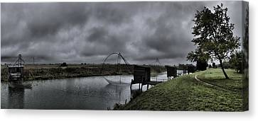 The Fishing Cabin Mk 2 Canvas Print by Wessel Woortman