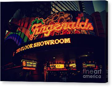 The Fitzgerald In Down Town Las Vegas Canvas Print
