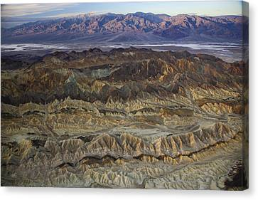 The Foothills Of Amargosa Canyon Canvas Print by Michael Melford