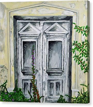 The Forgotten Door Canvas Print