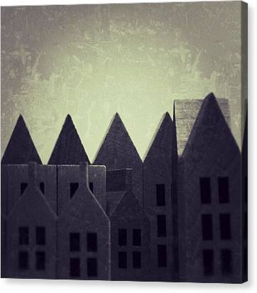 The Forgotten Town - 35 Canvas Print by Mirko Lamonaca