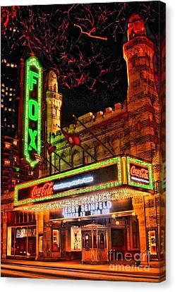 Atlanta Convention Canvas Print - The Fox Theater Atlanta by Corky Willis Atlanta Photography