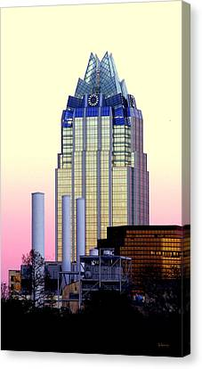 The Frost Tower  Canvas Print by Lisa  Spencer