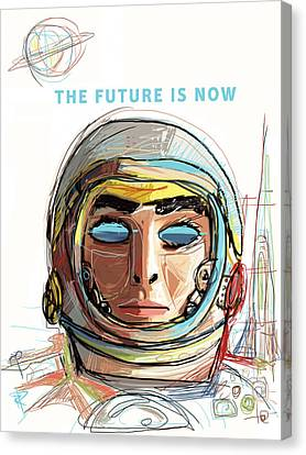 The Future Is Now Canvas Print by Russell Pierce