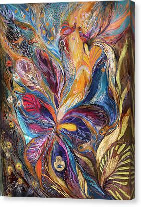 The Galilee Iris Canvas Print by Elena Kotliarker