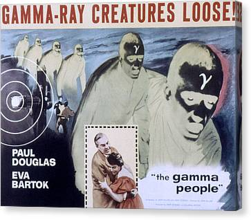 The Gamma People, Paul Douglas, Eva Canvas Print by Everett