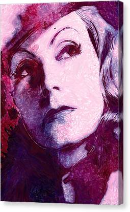 The Garbo Pastel Canvas Print by Steve K