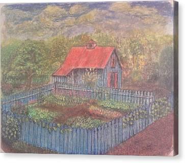 The Garden Barn At Callaway Gardens Canvas Print