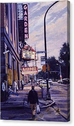 The Garden Theater Canvas Print