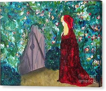 Acrylic Canvas Print - The Gate by Alys Caviness-Gober