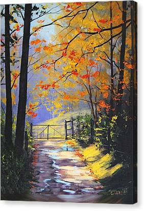 The Gate Canvas Print by Graham Gercken