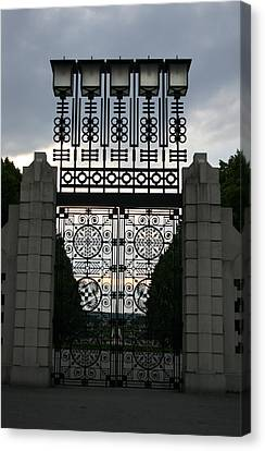 The Gate Canvas Print by Nina Fosdick