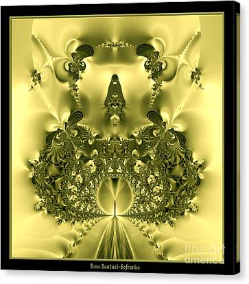 The Gates Of Heaven Fractal 66 Canvas Print by Rose Santuci-Sofranko