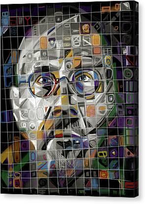 The Genius Canvas Print