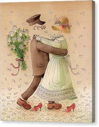 The Ghost Dance Canvas Print by Kestutis Kasparavicius