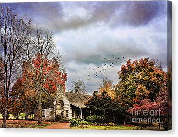 The Gift Shop Canvas Print by Darren Fisher