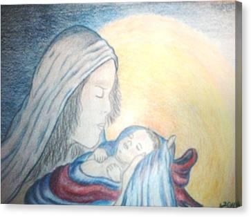 The Gift Canvas Print by Terri Walker Pullen