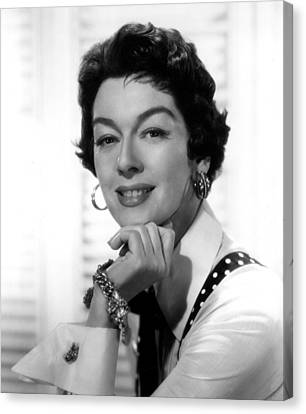 The Girl Rush, Rosalind Russell, 1955 Canvas Print by Everett