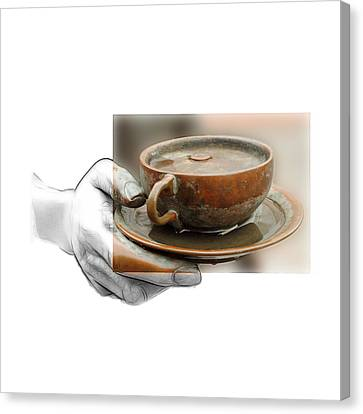 The Giving Hand Canvas Print by Steve K