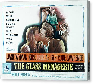 The Glass Menagerie, Jane Wyman, Kirk Canvas Print by Everett
