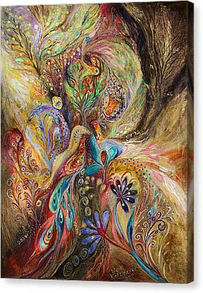 The Gold Dream Canvas Print by Elena Kotliarker