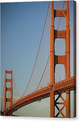 The Golden Gate Bridge At Dawn Canvas Print by Axiom Photographic