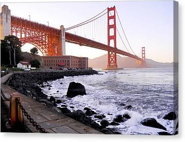 Canvas Print - The Golden Gate Bridge by Leori Gill
