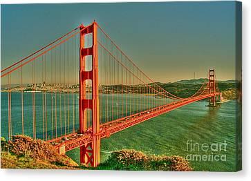 The Golden Gate Bridge Summer Canvas Print