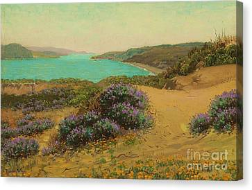 The Golden Gate Of San Francisco Canvas Print by Pg Reproductions
