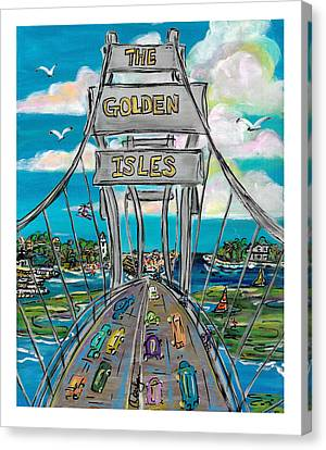 The Golden Isles Canvas Print