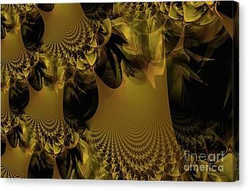 The Golden Mascarade Canvas Print by Maria Urso